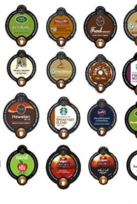 20-Count-Variety-Coffee-Vue-Cup-Sampler-for-Keurig-Vue-Brewers-Starbucks-Green-Mountain-Caribou-Tullys-folgers-etc-0