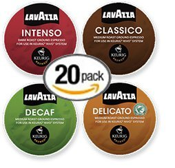20-count-Lavazza-RIVO-R-Cups-Cups-for-Keurig-Rivo-Brewers-Coffee-Espresso-Variety-Pack-featuring-Lavazza-Classico-Intenso-Delicato-and-Decaf-0