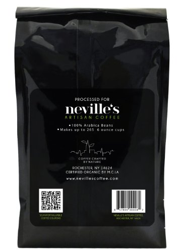 37-Off-New-York-New-YorkTM-French-Roast-Dark-Ground-Coffee-Pure-100-Arabica-Bean-Coffee-USDA-Organic-Freshness-Guaranteed-2-Lb-Bag-Nevilles-Coffee-a-Great-Way-to-Wake-up-in-the-Morning-0-1