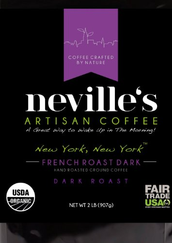 37-Off-New-York-New-YorkTM-French-Roast-Dark-Ground-Coffee-Pure-100-Arabica-Bean-Coffee-USDA-Organic-Freshness-Guaranteed-2-Lb-Bag-Nevilles-Coffee-a-Great-Way-to-Wake-up-in-the-Morning-0-3