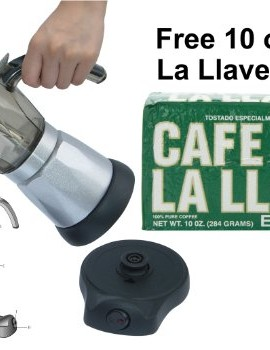 6-Cup-Electric-Cuban-Coffee-Maker-with-Free-Cafe-La-Llave-10-Oz-Pack-0