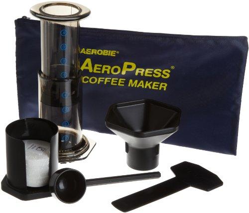 American Press Coffee Maker Reviews : Coffee Consumers Aerobie AeroPress Coffee Maker with Tote Bag