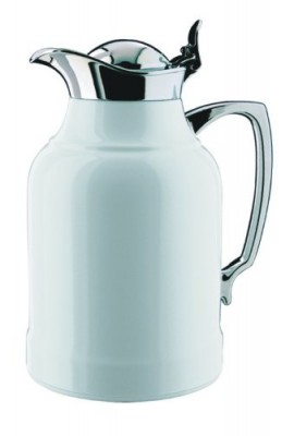 Alfi-Opal-White-Lacquered-Brass-with-Chrome-Thermal-Carafe-50-Ounce-0