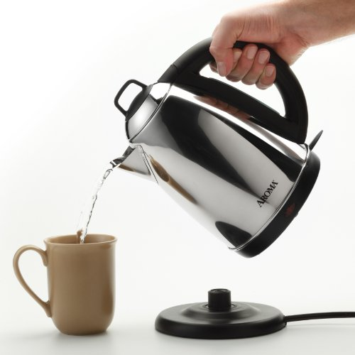 Aroma-Hot-H20-X-Press-15-Liter-6-Cup-Cordless-Electric-Water-Kettle-Stainless-Steel-0-1