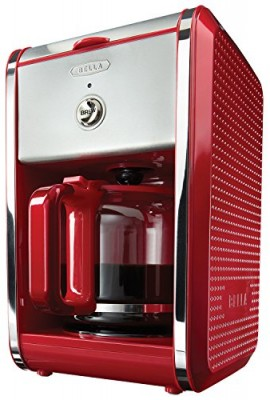 BELLA-13700-Dots-Collection-12-Cup-Coffee-Maker-Red-0