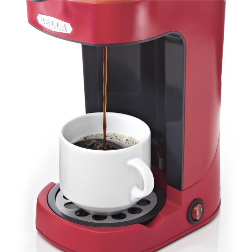 Coffee Consumers Bella 13711 One Scoop One Cup Coffee Maker Red