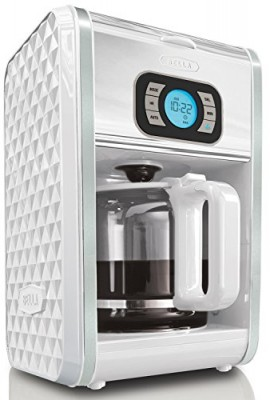 BELLA-13726-Diamonds-Collection-12-Cup-Programmable-Coffee-Maker-White-0