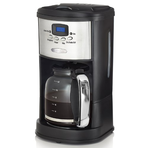 Coffee Consumers BELLA 14015 Polished 12-Cup Coffee Maker