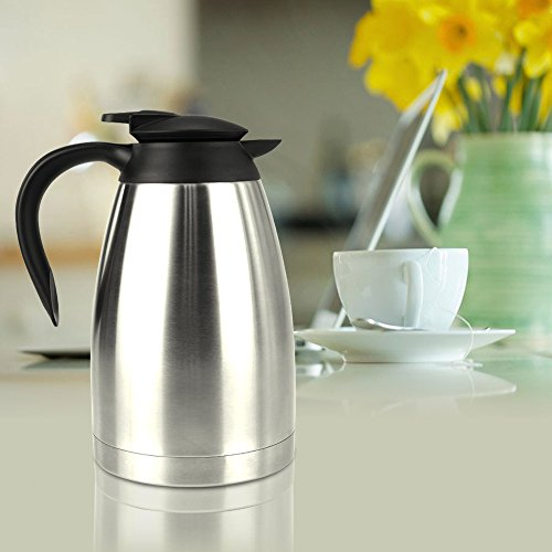 Coffee Consumers Bestek Coffee Carafe With Press Button