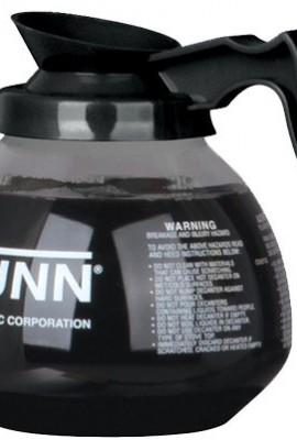 BUNN-Glass-Coffee-Pot-Decanter-Carafe-Set-of-3-Black-Regular-12-Cup-Capacity-0-0