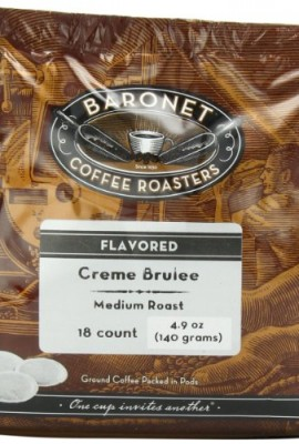 Baronet-Coffee-Creme-Brulee-Medium-Roast-140-g-18-Count-Coffee-Pods-0