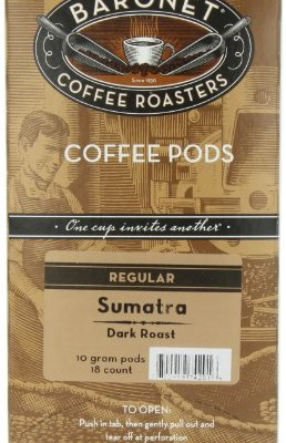 Baronet-Coffee-Sumatra-Dark-Roast-18-Count-Coffee-Pods-Pack-of-3-0