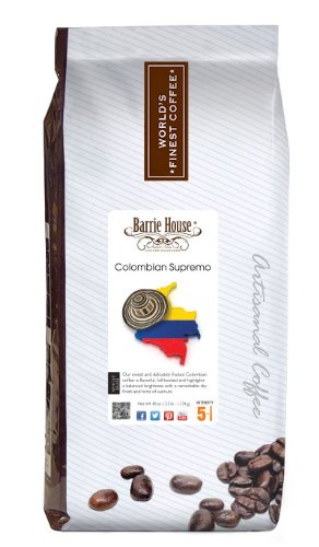 Coffee Consumers Barrie House Coffee Colombian Supremo