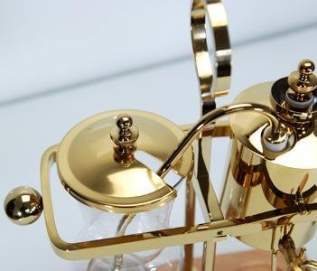 Belgium-Luxury-Royal-Family-Balance-Syphon-Coffee-Maker-Gold-Color-By-NISPIRA-0-0
