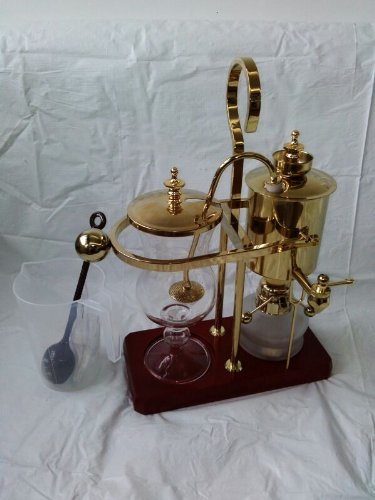 Belgium-Luxury-Royal-Family-Balance-Syphon-Coffee-Maker-Gold-Color-By-NISPIRA-0-3