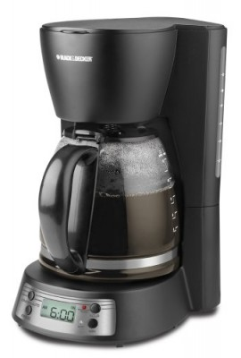 Black-Decker-BCM1410B-12-Cup-Programmable-Coffeemaker-with-Glass-Carafe-0