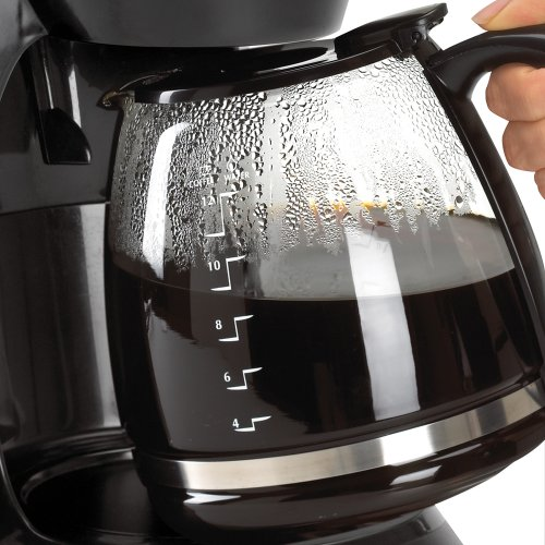 Black Decker DCM100B 12 Cup Programmable Coffeemaker with Glass Carafe 0 2 Black And Decker Coffee Maker Parts