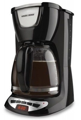 Black-Decker-DCM100B-12-Cup-Programmable-Coffeemaker-with-Glass-Carafe-0