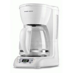 Black-Decker-DLX1050W-12-Cup-Programmable-Coffeemaker-with-Glass-Carafe-White-0