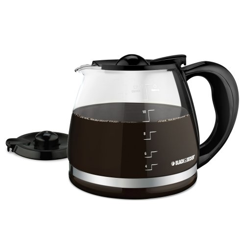 Intertek Coffee Maker Parts : Coffee Consumers BLACK+DECKER 12-Cup Replacement Carafe with Duralife Construction, Glass, GC3000B