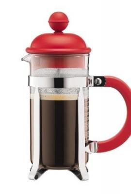 Bodum-Caffettiera-035-Liter-3-Cup-Coffee-Maker-12-Ounce-Red-0