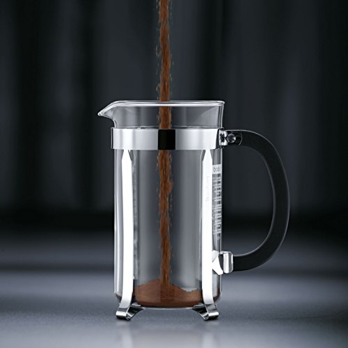Bodum Chambord 12 cup French Press Coffee Maker 51 oz Chrome 0 0 Stainless Steel French Press Amazon