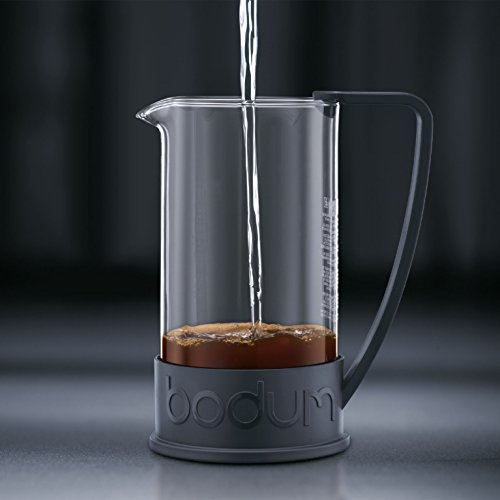 coffee consumers bodum new brazil 8 cup french press coffee maker 34 ounce black. Black Bedroom Furniture Sets. Home Design Ideas