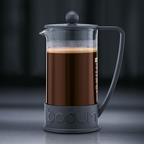 Coffee Consumers Bodum New Brazil 8-Cup French Press Coffee Maker, 34-Ounce, Black