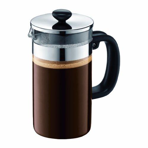 coffee consumers bodum shin bistro 8 cup coffee press no cork 34 ounce. Black Bedroom Furniture Sets. Home Design Ideas