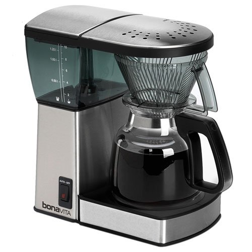 Coffee Consumers Bonavita BV1800 8 Cup Coffee Maker With Glass Carafe with 4 pcs 10oz Handy ...