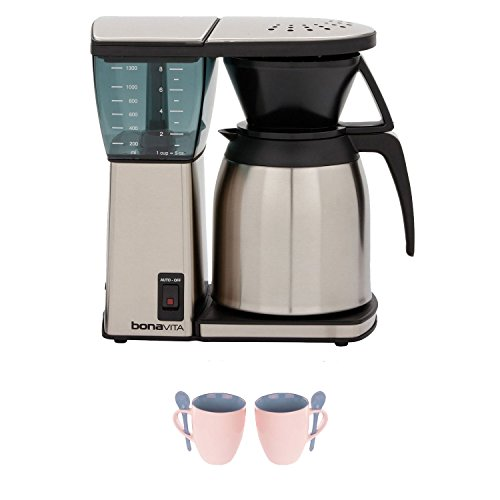 Bonavita Coffee Maker Replacement Thermal Carafe : Coffee Consumers Bonavita BV1800TH 8 Cup Coffee Maker w/ Thermal Carafe + Accessory Kit
