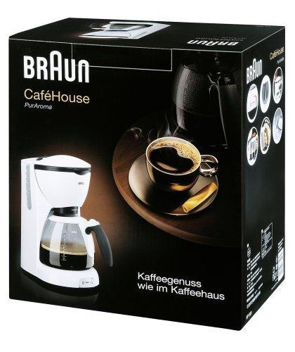 Coffee Consumers Braun KF520 Cafehouse Coffee Maker Machine, 220-240 Volt