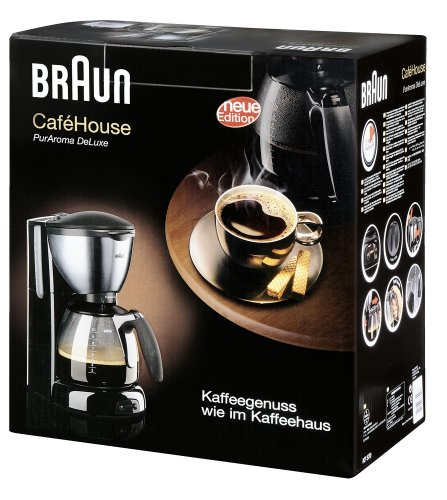 Braun Coffee Maker Single Cup : Coffee Consumers Braun KF570 50 Hz 10-Cup Coffee Maker, 220 to 240-volt