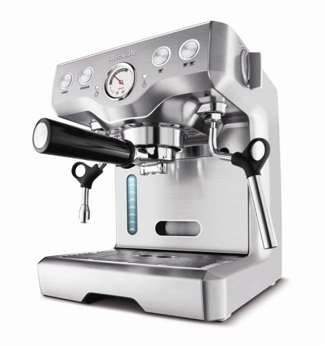 coffee consumers breville bes820xl die cast 15 bar programmable espresso machine. Black Bedroom Furniture Sets. Home Design Ideas