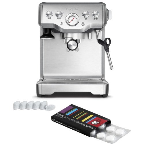 Breville-BES840XL-Infuser-Espresso-Machine-with-Bonus-Filters-and-Cleaning-Tablets-0