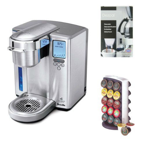 Breville Coffee Maker Replacement : Coffee Consumers Breville BKC700XL Gourmet Single-Serve Coffeemaker w/ Breville BKC100 K-Cup ...