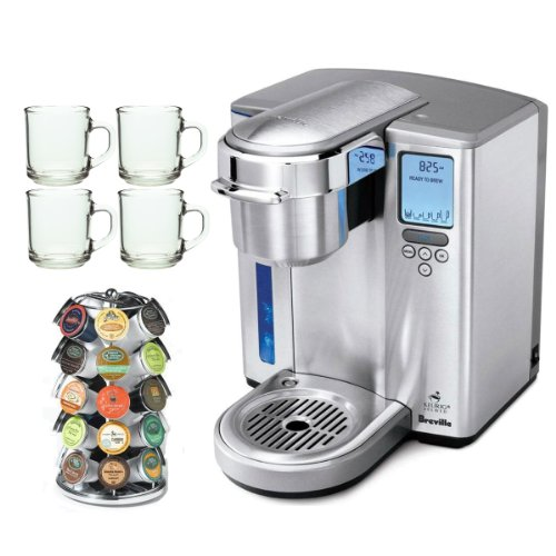 Coffee Consumers Breville BKC700XL Gourmet Single-Serve Coffeemaker w/ Iced-Beverage Function ...