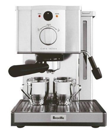Breville-ESP8XL-Cafe-Roma-Stainless-Espresso-Maker-0