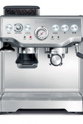 breville bes860xl barista express espresso machine with grinder