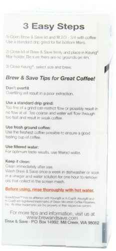 Brew-and-Save-Refillable-Single-cup-coffee-or-tea-or-cider-for-Keurig-K-Cup-Brewers-2-Count-0-1