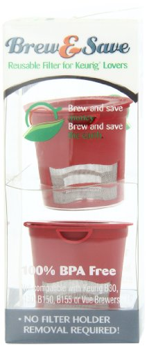 Brew-and-Save-Refillable-Single-cup-coffee-or-tea-or-cider-for-Keurig-K-Cup-Brewers-2-Count-0-2