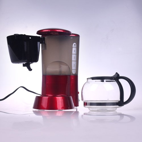 Buy-It-Now-PHY-4-Cup06L-Switch-Espresso-Coffee-Maker-Coffeemaker-with-Glass-Carafe-Permanent-Filter-Semi-Transparent-Water-Tank-Red-0-2