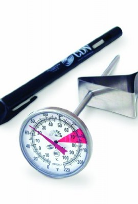 CDN-IRB220-F-ProAccurate-Insta-Read-NSF-Beverage-and-Frothing-Thermometer-5-inch-stem-0
