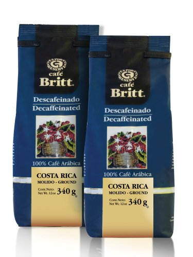 Cafe-Britt-Costa-Rica-Decaffeinated-Ground-Coffee-12-Ounce-Bags-Pack-of-2-0
