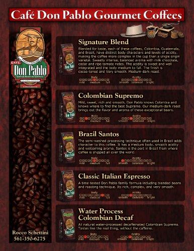 Coffee Consumers Cafe Don Pablo Gourmet Coffee Medium