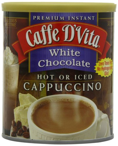 Caffe-DVita-White-Chocolate-Cappuccino-Mix-16-Ounce-Canisters-Pack-of-6-0