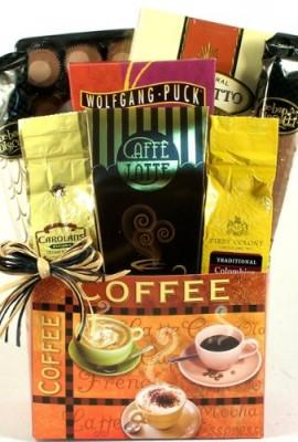 Caffe-Latte-Gourmet-Coffee-Gift-Basket-Office-Gift-Basket-or-Birthday-Gift-Basket-for-the-Coffee-Lover-0