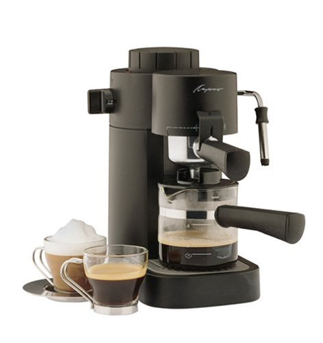 Steam Press Coffee Maker : Coffee Consumers Capresso 302.01 Mini-S 4-Cup Safety Espresso/Cappuccino Machine