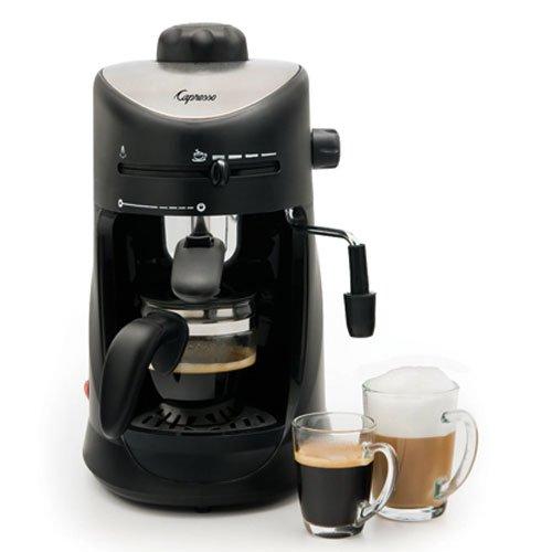 Coffee Consumers Capresso 303.01 Capresso 4-cup Espresso Cappuccino Machine with New 20 oz ...