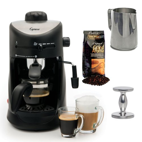 Coffee Consumers Capresso 303.01 Capresso 4-cup Espresso Cappuccino Machine with New 20 oz ...